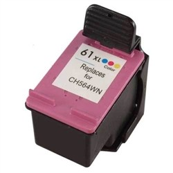HP Remanufactured CH564WN (61XL) Color Ink Cartridge