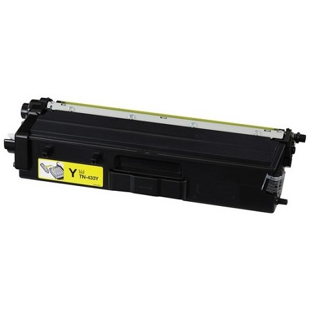 Brother TN433Y Yellow Compatible Toner