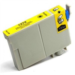 Epson T127420 Remanufactured Yellow Ink Cartridge